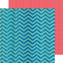 Two Blue Chevron