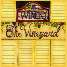 Vintage Vineyard Tags