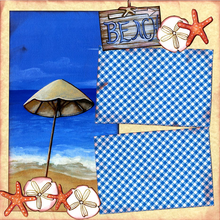 Warm Sandy Beaches - Quick Pages Set - Left & Right