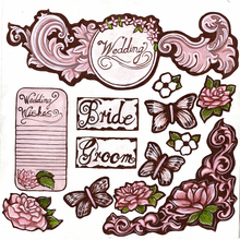 Wedding Cut-Out Sheet