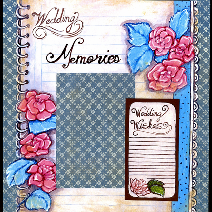 Wedding Memories - Quick Pages Set - Left & Right