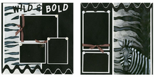 Wild & Bold Finished Page Set