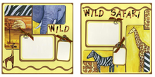 Wild Wild Safari Finished Page Set