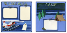 Wilderness Camp Finished Page Set