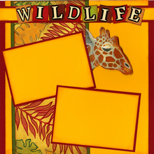 Wildlife  (Page Kit)  - Left