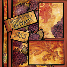 Wine Country Quick Page Set - Left
