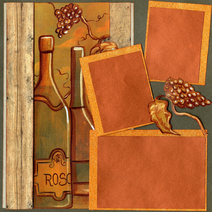 Wine Tasting - Quick Pages Set - Left & Right