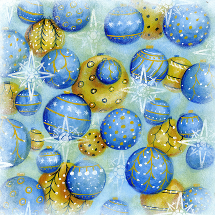 Winter Decorations - Print