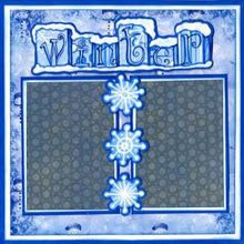 Winter - Quick Pages Set - Left & Right