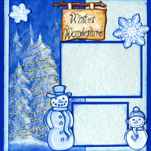 Winter Wonderland Fun (Page Kit) - Left & Right