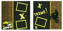 X-Treme Sport Finished Page Set