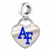 Air Force Falcons Color Heart Dangle