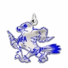 Air Force Falcons Color Logo Charm