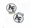 Air Force Falcons Sterling Silver Cufflinks