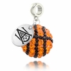 Alabama A&M Bulldogs Crystal Drop Charm