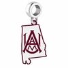 Alabama A&M Bulldogs Logo Dangle Charm