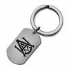 Alabama A&M Bulldogs Stainless Steel Key Ring