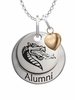 Alabama Birmingham Blazers Alumni Necklace with Heart Accent