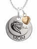 Alabama Birmingham Blazers MOM Necklace with Heart Charm