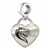 Alabama Birmingham Heart Dangle Charm