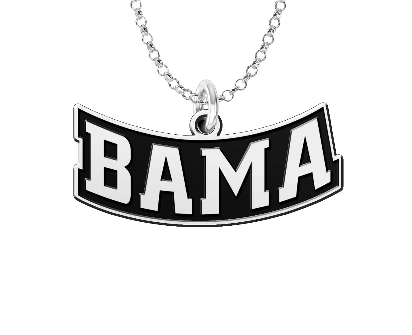 best service 05f69 103d4 Wholesale Alabama Crimson Tide Word Mark Charm Jewelry in ...