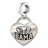 Alabama Crimson Tide Dangle Charm