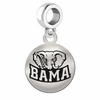 Alabama Round Dangle Charm