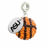 Alabama State Hornets Crystal Drop Charm