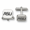 Alabama State Hornets Stainless Steel Cufflinks