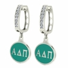 Alpha Delta Pi Hoop Earrings