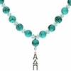 Alpha Delta Pi Lavaliere Drop Necklace