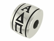 Alpha Delta Pi Sorority Barrel Bead