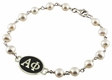 Alpha Phi Sorority Tin Cup White Pearl