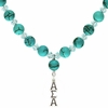 Alpha Sigma Alpha Lavaliere Drop Necklace