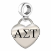 Alpha Sigma Tau Heart Drop Charm