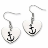 Alpha Sigma Tau Heart Drop Earrings