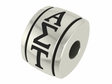 Alpha Sigma Tau Sorority Barrel Bead