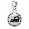 Angelo State Rams Border Round Dangle Charm