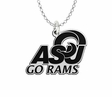 Angelo State Rams Spirit Mark Charm