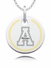 Appalachian State Mountaineers Round Enamel Charm