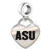 Arizona State Heart Dangle Charm