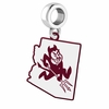 Arizona State Sun Devils Logo Dangle Charm