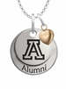 Arizona Wildcats Alumni Necklace with Heart Accent