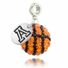 Arizona Wildcats Crystal Drop Charm