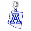 Arizona Wildcats Logo Dangle Charm
