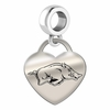 Arkansas Heart Dangle Charm