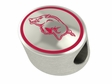 Arkansas Razorbacks Enamel Bead