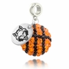 Arkansas State Crystal Drop Charm