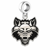 Arkansas State Red Wolves Logo Cut Out Dangle