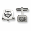 Arkansas State Red Wolves Stainless Steel Cufflinks